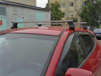 Багажник на крышу Mazda CX-9 2017-..., Атлант, прямоугольные дуги