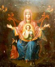 Знамение (копия иконы 19 века)