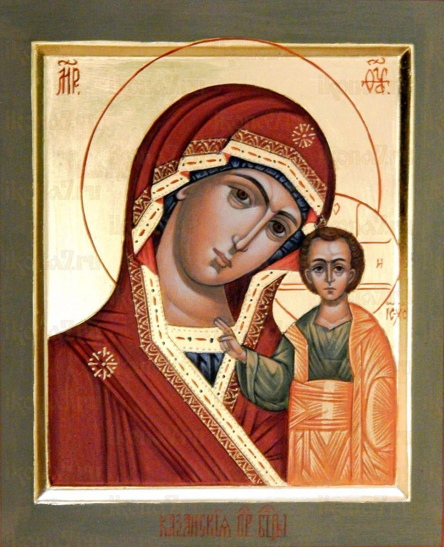 Казанская икона БМ (икона на дереве)