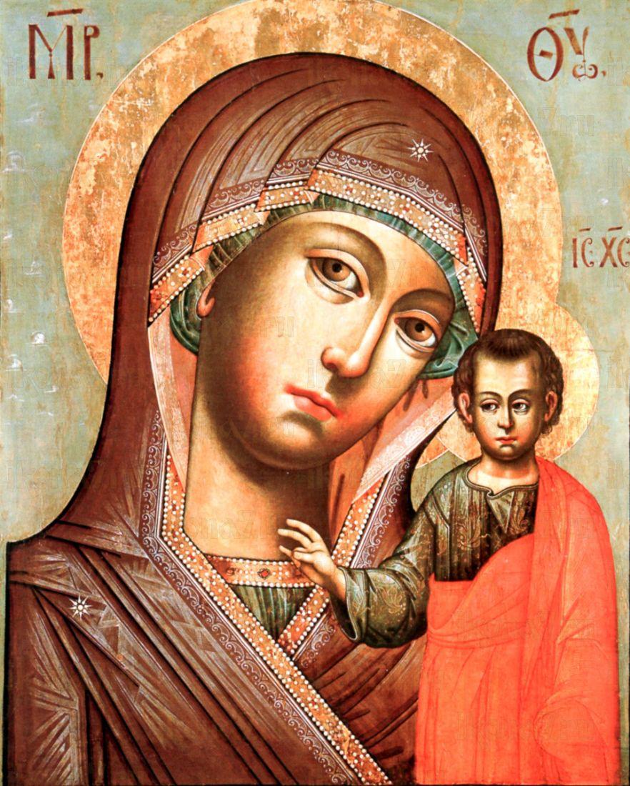 Казанская икона БМ (копия старинной иконы)