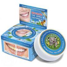Круглая зубная паста антибактериальная «BINTURONG», 33г