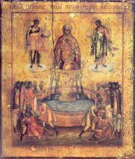 Икона Живоносный источник (копия старинной)