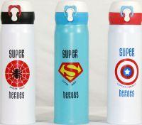 Термостакан Super Heroes с поилкой 500 мл
