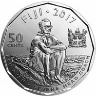 Фиджи 50 центов 2016 г.