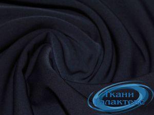 Костюмная ткань нано стрейч 16661/C#5 тем.синий