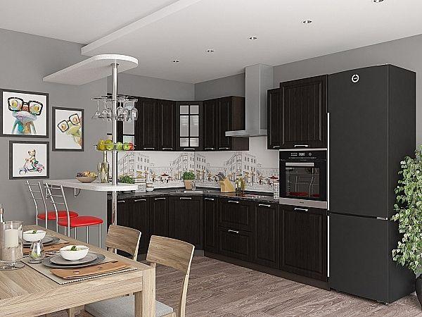 Кухня Прага-03 Венге Премиум
