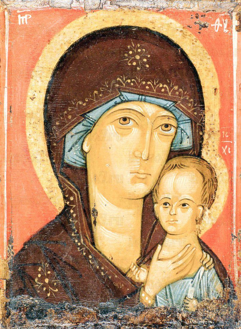 Икона Петровская икона Божией Матери (копия 14 века)