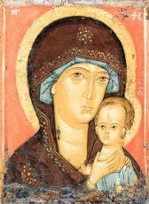 Петровская икона БМ (копия иконы 14 века)