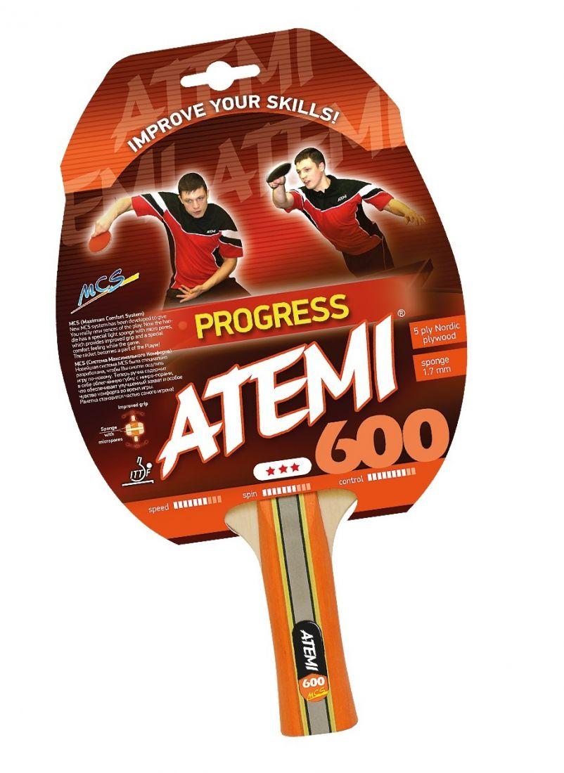 Ракетка для настольного тенниса ATEMI 600 3 звезды