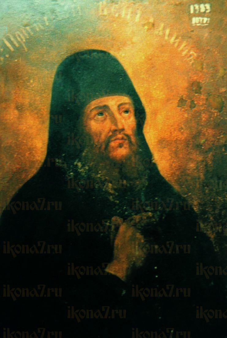 Икона Вениамин Печерский (копия 19 века)
