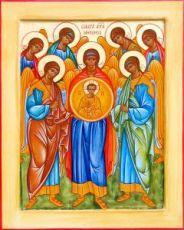 Собор Архангела Михаила (икона на дереве)