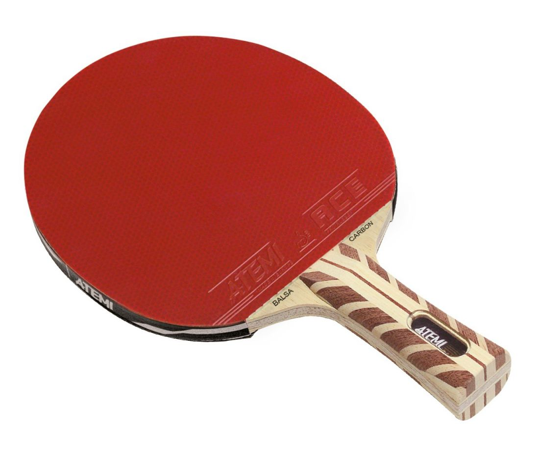 Ракетка для настольного тенниса ATEMI 5000 PRO BALSA-CARBON