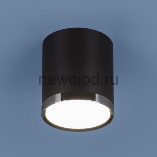Накладной точечный светильник DLR024 6W 4200K черный матовый