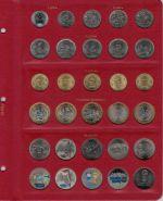 Универсальный лист для монет Российской Федерации P0015