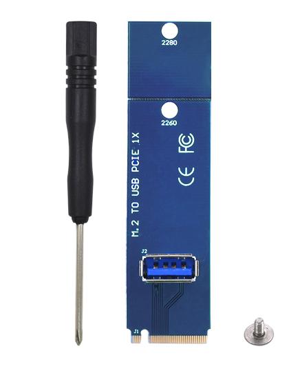 Адаптер M2 - USB PCIE 1x