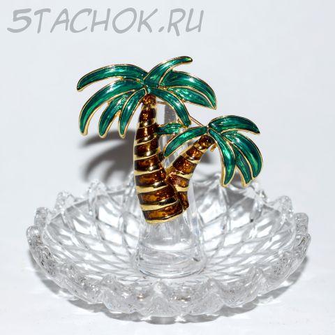 """Брошь """"Пальма"""" (США)"""