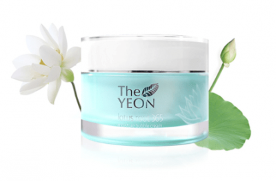 Крем для лица увлажняющий TheYEON Lotus Roots 365 Moisture Bubble Cream 50мл