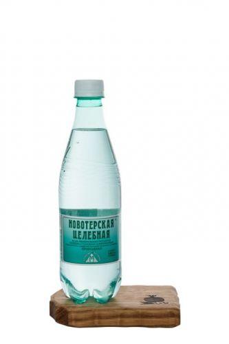 ..Новотерская 0,5л мин.пит. лечебно-столовая вода пластик