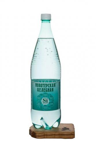 ..Новотерская 1,5л мин.питьевая  лечебно-столовая вода пластик
