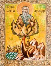 Давид Солунский (копия старинной иконы)
