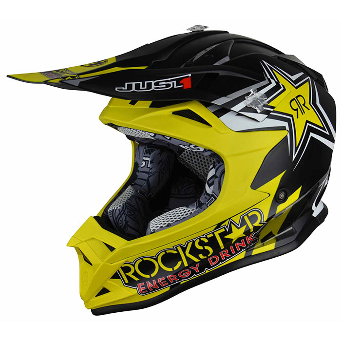 Just1 - J32 Pro Rockstar 2.0 Kids шлем, подростковый