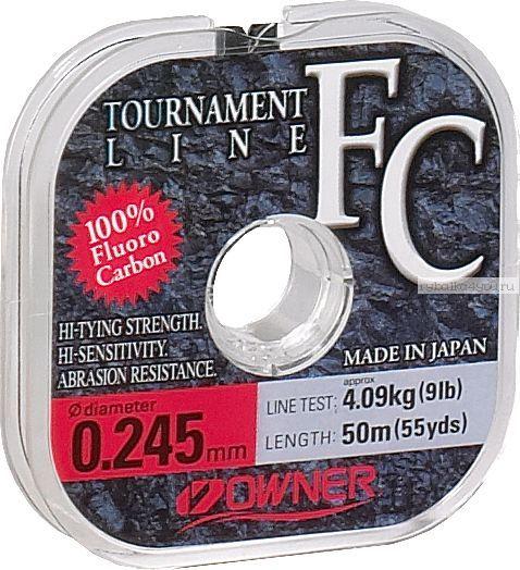 Леска Owner Tournament Line FC 50 м