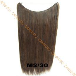 Искусственные термостойкие волосы на леске прямые №M002/030(60 см) - 100 гр.