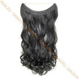 Искусственные термостойкие волосы на леске волнистые №002 (60 см) - 100 гр.