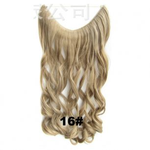 Искусственные термостойкие волосы на леске волнистые №016 (60 см) - 100 гр.