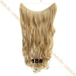 Искусственные термостойкие волосы на леске волнистые №018 (60 см) - 100 гр.