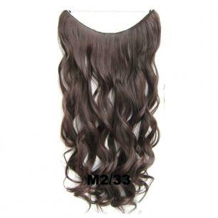 Искусственные термостойкие волосы на леске волнистые №M002/033 (60 см) - 100 гр.