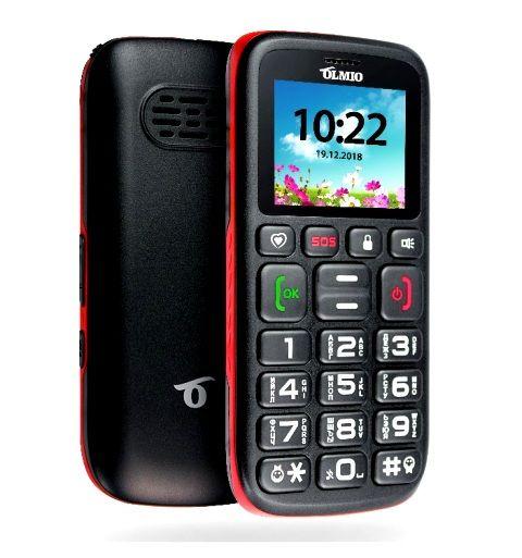 Телефон Olmio C17 с громким динамиком и большими кнопками