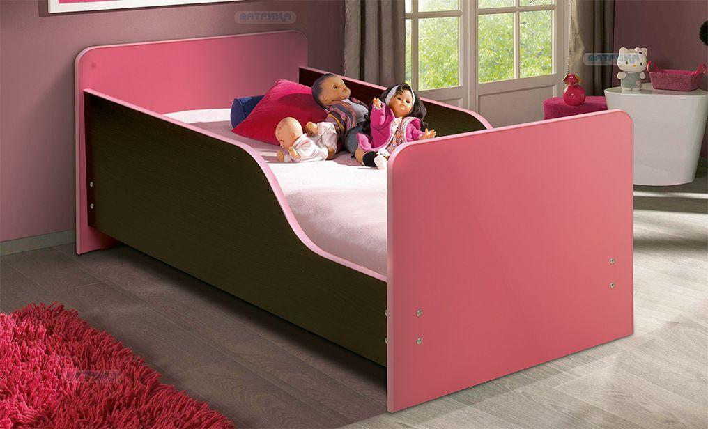 Кровать детская с бортом Малышка № 2