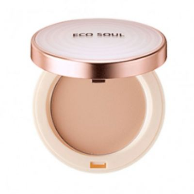 The SAEM Пудра санскрин 21 Eco Soul UV Sun Pact 11гр