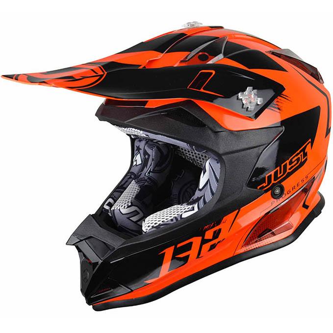 Just1 - J32 Pro Kick Orange шлем, оранжевый
