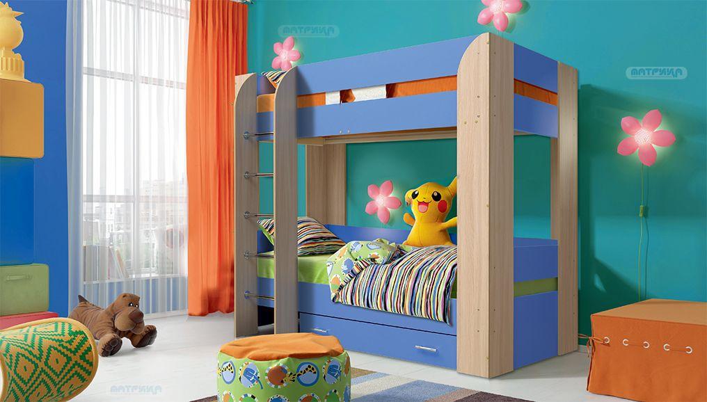 Кровать 2-х ярусная Юниор - 6