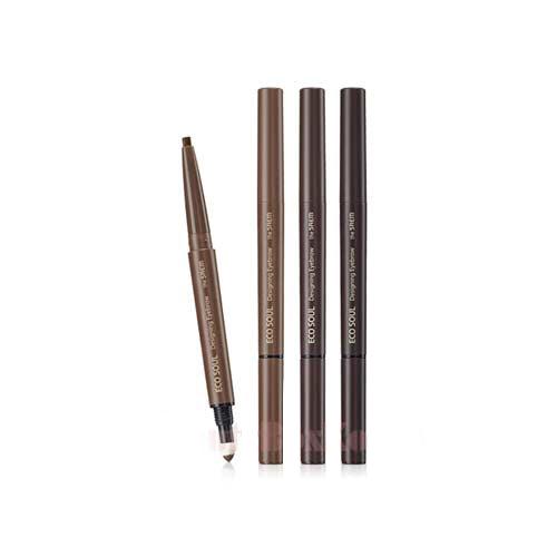 The SAEM Карандаш для бровей 3 в1 Eco Soul Designing Eyebrow 0,2гр+0,12гр