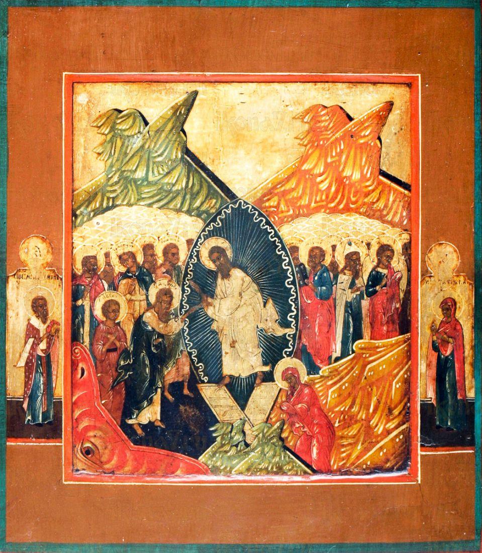 Воскресение Христово (копия старинной иконы)