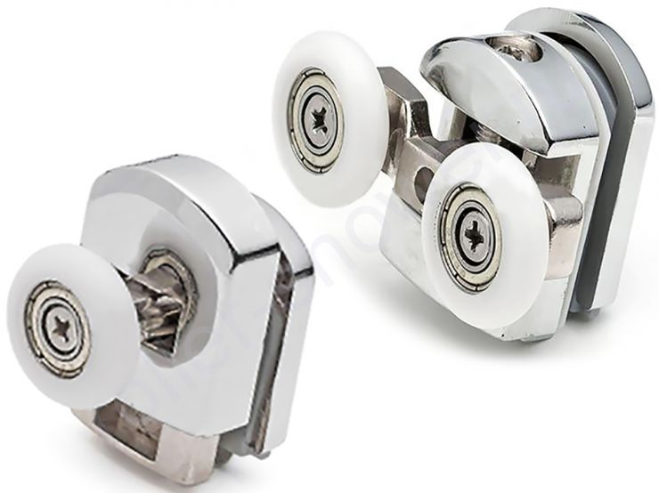 Ролики для душевой кабины River (Ривер) iddis  (комплект 4шт) Диаметр колеса (от 18,6 до 28мм)