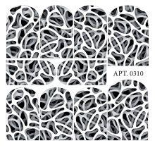 Слайдер-дизайн для ногтей № 0310