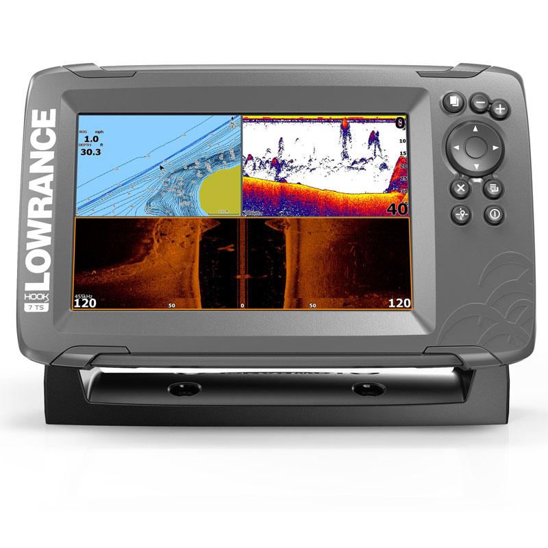 Эхолот/картплоттер Lowrance HOOK2-7 TripleShot