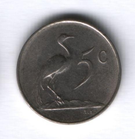 5 центов 1976 г. ЮАР