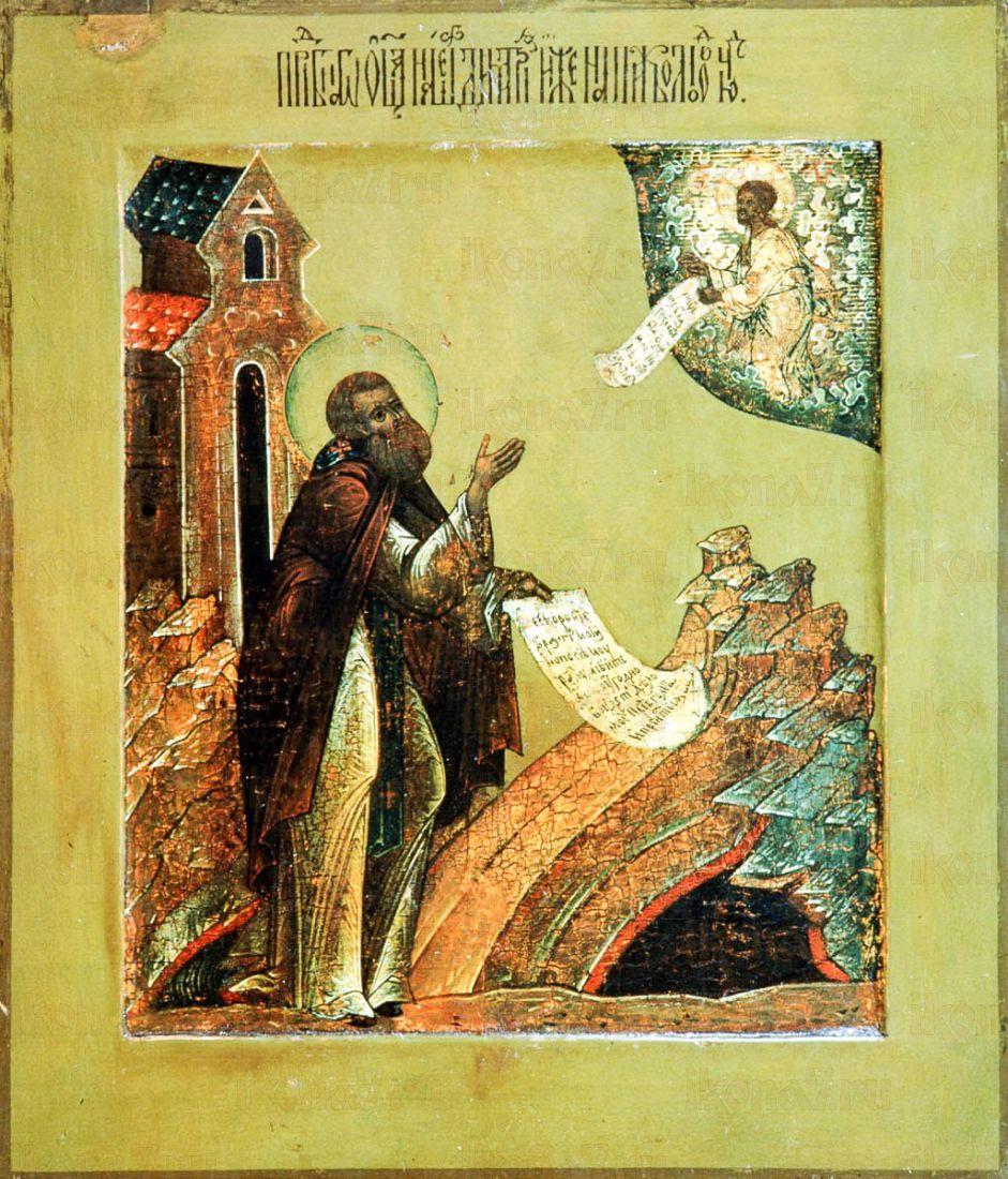 Дмитрий Прилуцкий (копия иконы 16 века)