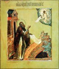 Икона Дмитрий Прилуцкий (копия 16 века)
