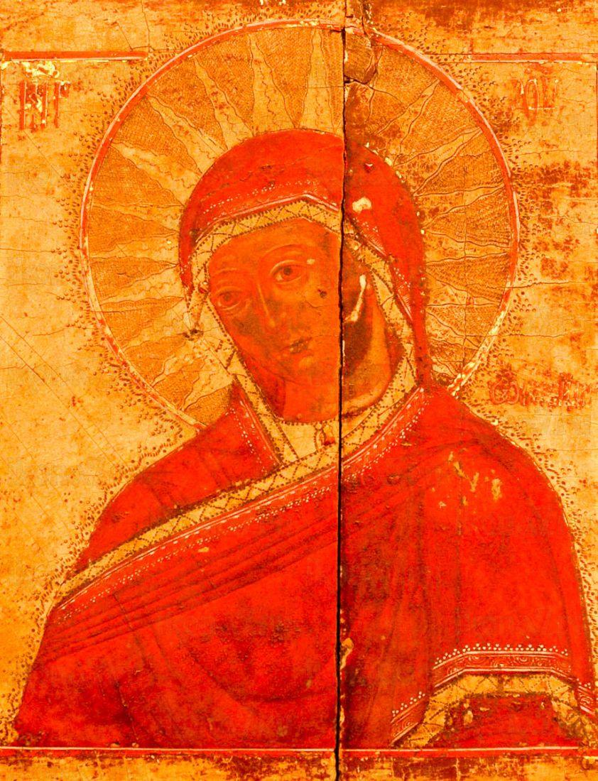 Огневидная икона Божией Матери (копия 19 века)