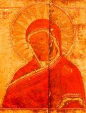 Огневидная икона БМ (копия 19 века)