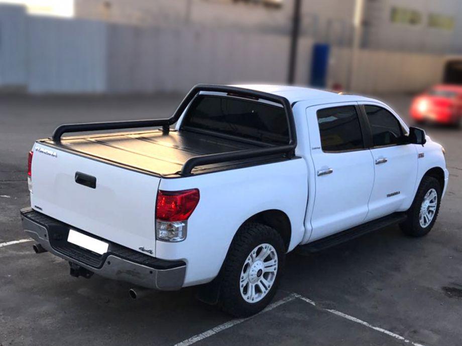 Дуга в кузов одинарная d-76 Toyota Tundra Double Cab Long