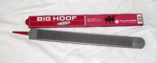 Рашпиль  Big Hoof Heller (Mustad) для больших копыт