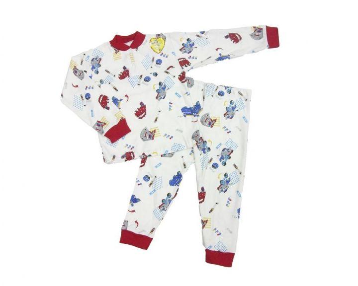 Пижама с кокеткой C-PJ023(2)-IT (интерлок-пенье, большие размеры)