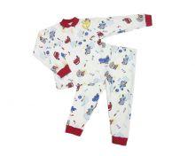Пижама с кокеткой (большие размеры) C-PJ023(2)-IT | Артикул 1634 | МАМИН МАЛЫШ